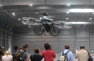 Flying bicycle2