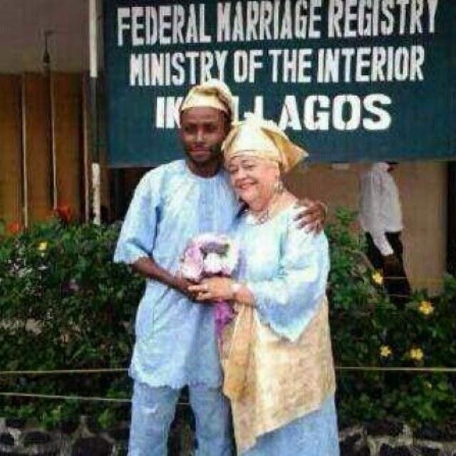Image result for nigerian men who married older white women