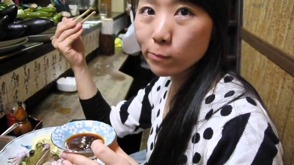 Ewwww: How People In Japan Eat Live Frog Sushi