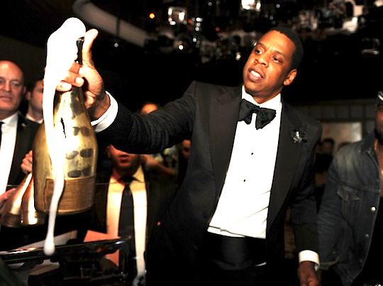 Jay-Z Hosts After Concert Private After Party at Marquee Nightclub at The Cosmopolitan