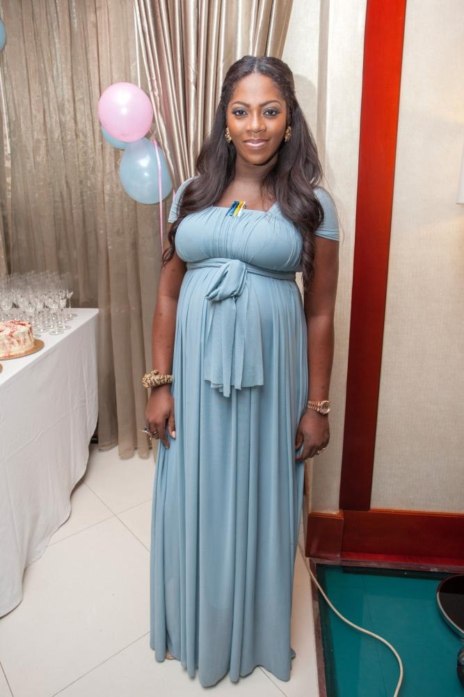 Pregnant Tiwa Savage