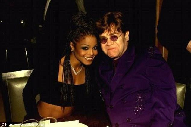 Elton and Janet Jckson