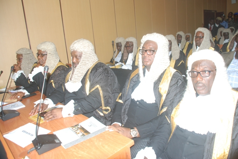 Special Valedictory Court Session In Honour Of James Ocholi SAN At The National Industrial Court, Abuja On 16th March, 2016