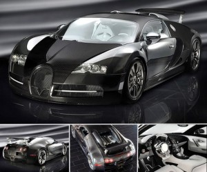 2009 Bugatti Veyron Mansory Linea Vincero top car rating and specifications
