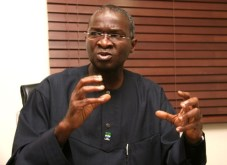 Image result for Fashola promises to fix abandoned federal roads in Imo