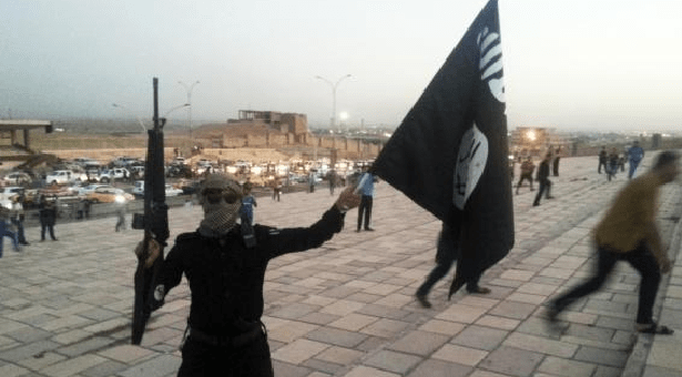 An ISIS fighter