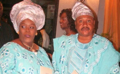 Jide and Henrietta Kosoko