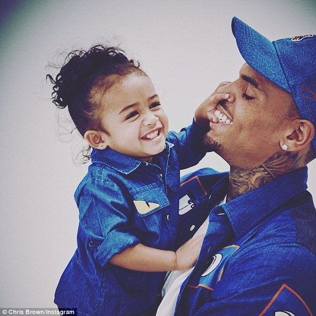 2-year-old Chris Brown's Daughter Makes Modelling Debut