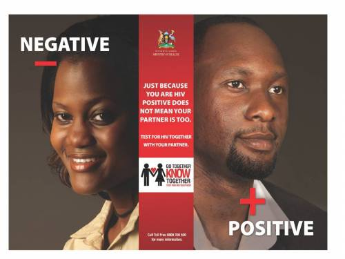 Couple negative and positive