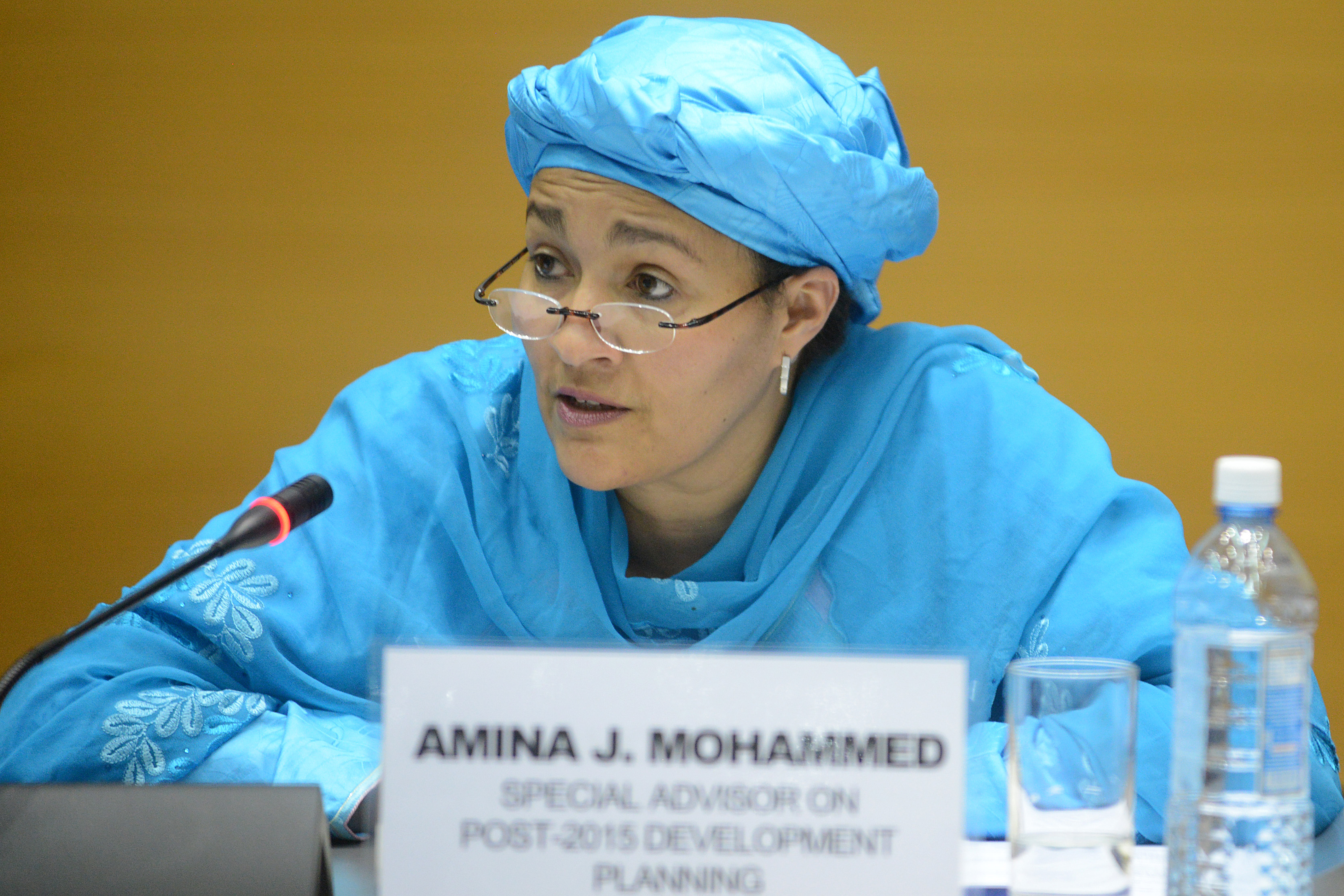 Mohammed Pledges Un Support To Nigeria's Fight Against Corruption, Insecurity