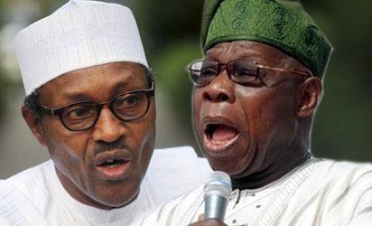Buhari and Obasanjo