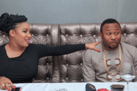 Tonto Dikeh and Olakunle Churchill