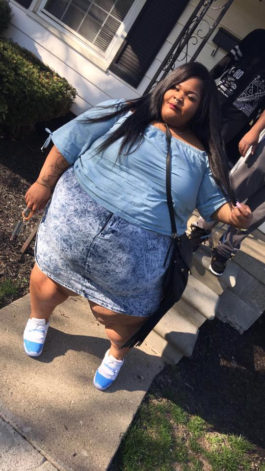 Overweight Upcoming Female Rapper Goes Nude In Protest Of