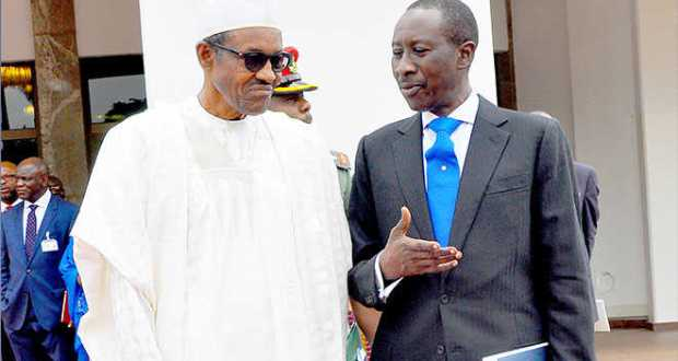 Buhari and Monguno