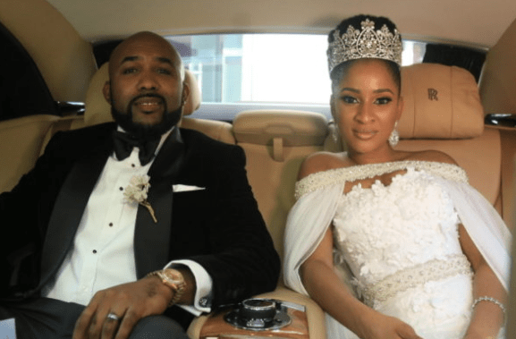Photo: First Look At Banky W and Adesua's Access Card For Tomorrow's Big Day