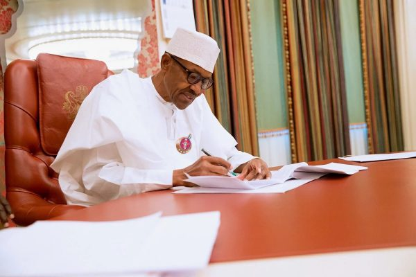 Buhari on financial autonomy