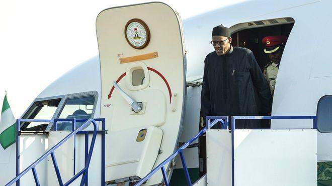 President Buhari Jet