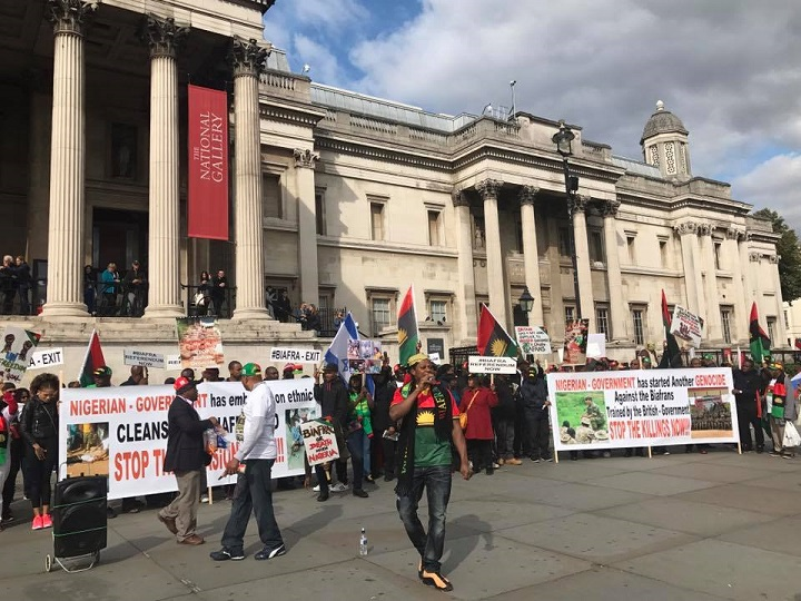 IPOB waiting for Buhari in London