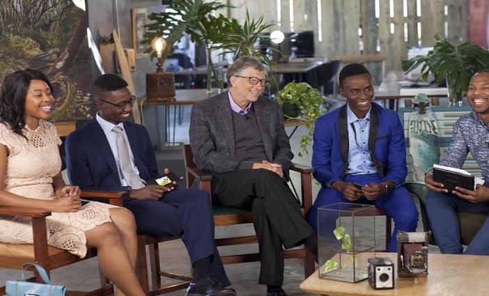 Image result for Bill Gates in Nigeria
