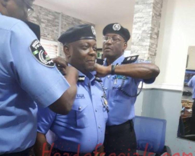 Commissioner of Police demoted