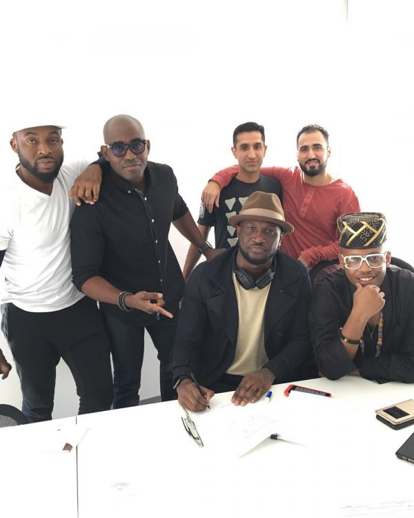 Peter, Okoye aka Mr p lands new deal with Empire