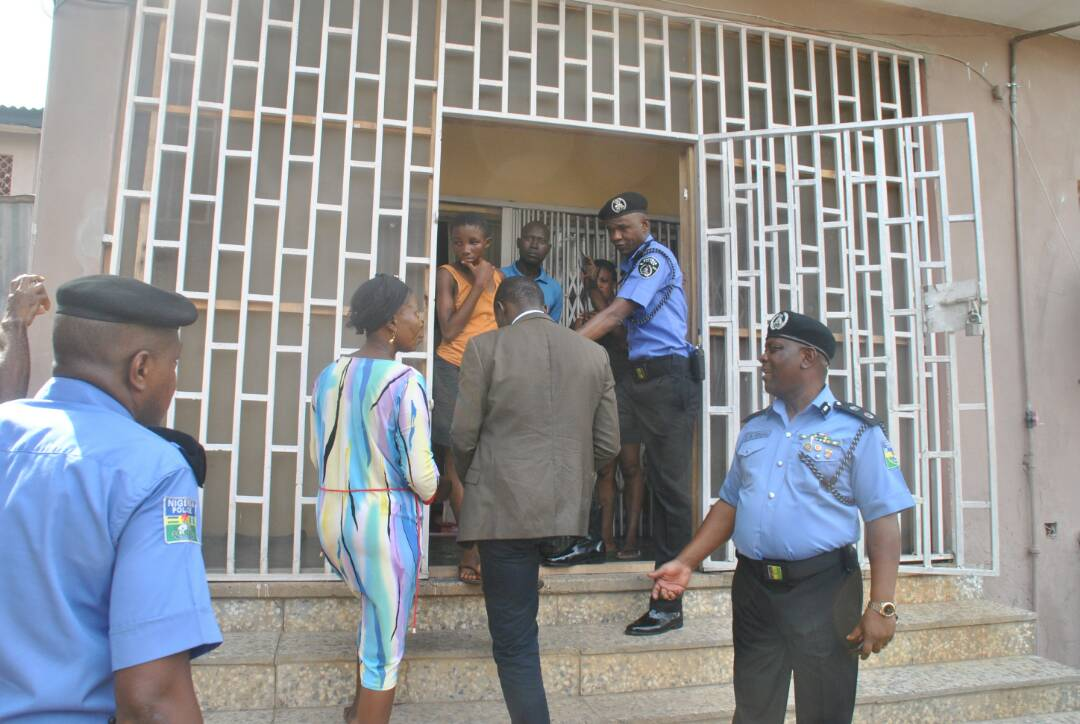 Police rescue Starving young girl locked Indoors While Evil Madam traveled Abroad