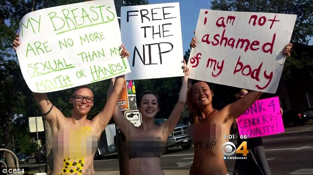 free the nipple movement supporters