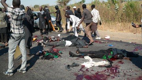 File photo: Boko Haram attack