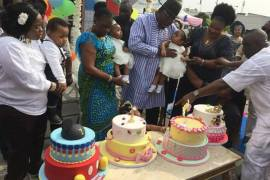 Governor Dickson and wife celebrate quadruplets first birthday