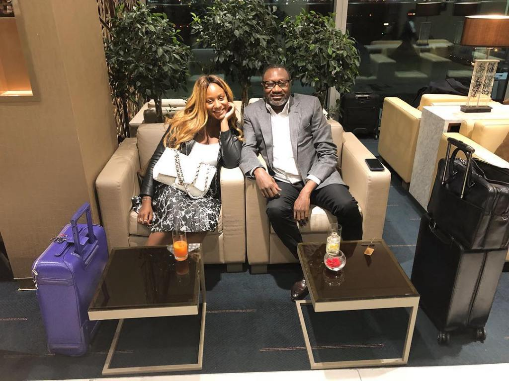 femi otedola and daughter in india