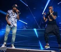 wizkid and davido at o2 academy, london