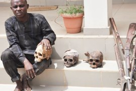 Mr. Suleiman Ajenifuja Lagos Tailor Caught with Three human skulls