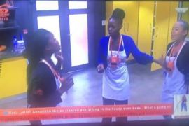 Khloe and Cee-c argue