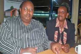 Francis Gichuru and wife