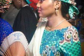 Zahra Buhari debuts Baby Bump at Uncle's Wedding