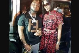 Naomi Campbell and Davido