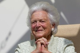 barbara bush former first lady