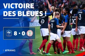 France humiliate Nigeria