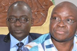 Kolapo Olusola and Ayo Fayose
