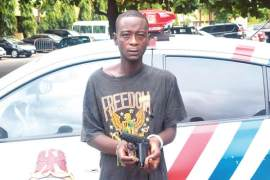 Rilwan Wasiu robber caught while beating girlfriend