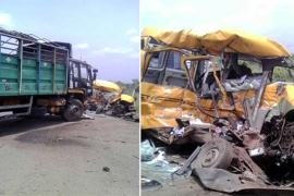 accident on lagos ibadan expressway