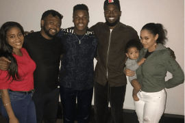 Dbanj and family