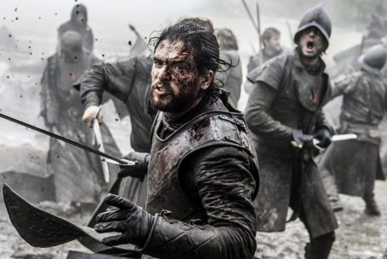 Jon Snow Battle of the Bastards