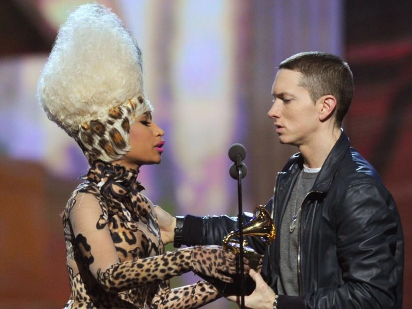 Eminem and Nicki Minaj