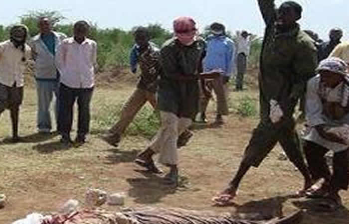 Woman Stoned To Death For Having Eleven Husbands In Somalia