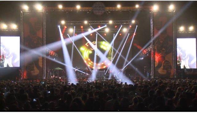 Wizkid Concert Photo