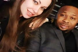 Oladunni Churchill with new girlfriend