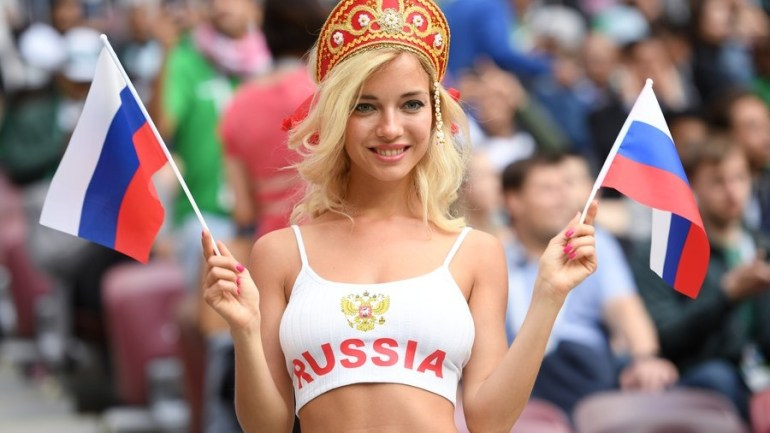 PHOTOS: Hottest Russian Football Fan Also Turns Out to Be ...