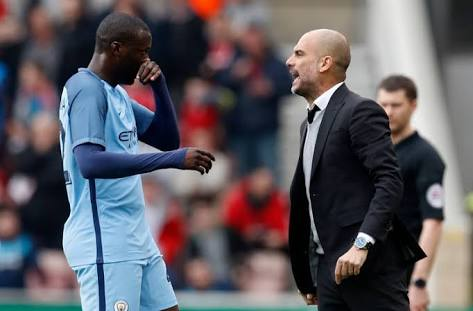 Pep Guardiola hits back at Yaya Toure for his 'lie'