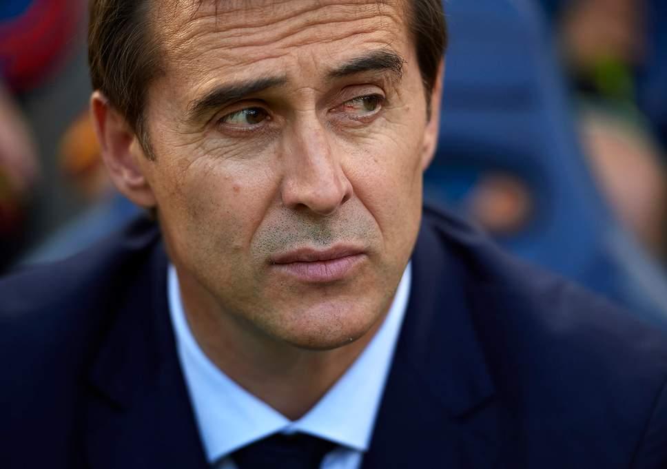 Real Madrid manager, Julen Lopetegui